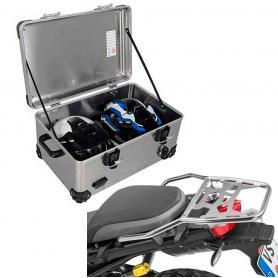 Pack Equipaje Topcase Zega EVO XXL con soporte para BMW F850GS ADV