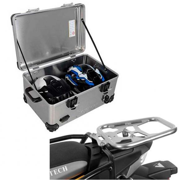 Pack Equipaje Topcase Zega EVO XXL con soporte para BMW F800GS / F800GS ADV / F700GS