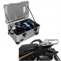 Pack Equipaje Topcase Zega EVO XXL con soporte para KTM 1050 ADV / 1090 ADV / 1190 ADV / 1290 SUPER ADV
