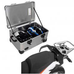 Pack Equipaje Topcase Zega EVO XXL con soporte para KTM 790 ADV / 790 ADV R / 890 ADV / 890 ADV R