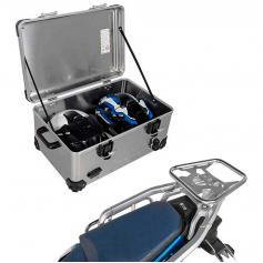 Pack Equipaje Topcase Zega EVO XXL con soporte para Honda Africa Twin CRF 1100 L Adventure Sports