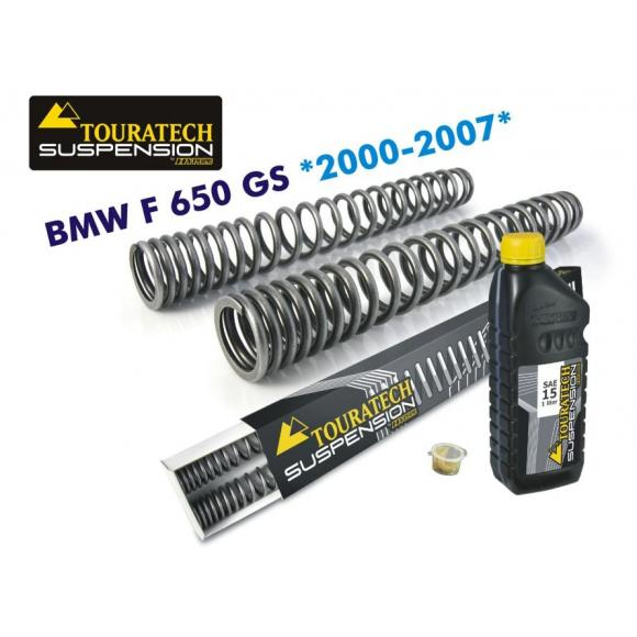 Muelles de horquilla progresivos, para BMW F650GS (2000-2007)