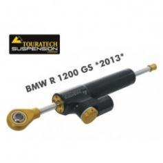 Amortiguadores de dirección de Touratech Suspension *CSC* para BMW R1200GS (LC) modelo 2013 +incl. juego de montaje+