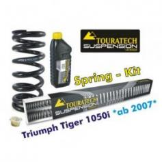 Muelles progresivos de intercambio Hyperpro para horquilla y tubo amortiguador,Triumph Tiger 1050i *desde el año 2007*