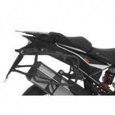 Portamaletas negro para KTM 1050 Adventure/ 1090 Adventure/ 1290 Super Adventure/ 1190 Adventure/ 1190 Adventure R