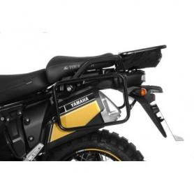 Portamaletas de acero inoxidable negro, para Yamaha XT1200Z / ZE Super Tenere