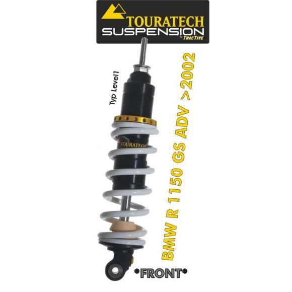 Tubo amortiguador de la suspensión Touratech *delante* para BMW R1150GS ADV a partir de 2002 modelo *Level1*