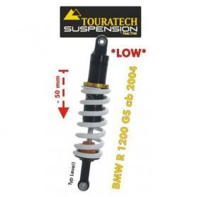 Ajuste de suspensión inferior trasera deTouratech(-50mm) para BMW R1200GS (2004-2012) tipo *Level1*