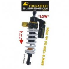 Ajuste de suspensión inferior Touratech (-50mm) trasera para BMW R1200GS (2004-2012) tipo *Highend*