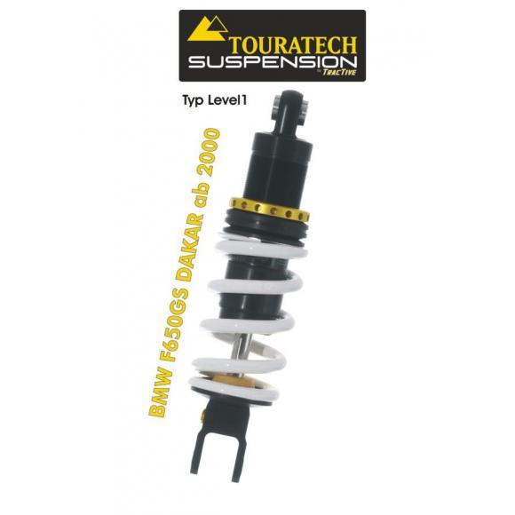 Tubo amortiguador de la suspensión Touratech para BMW F650GS DAKAR a partir de 2000 modelo Level1