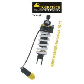 Touratech Tubo amortiguador de la suspensión para BMW G650GS Sertao a partir de 2011 tipo Level2/ExploreHP