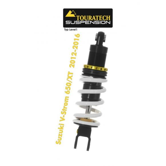Tubo amortiguador de la suspensión Touratech para Suzuki V-Strom 650/XT 2012-2016 modelo Level1