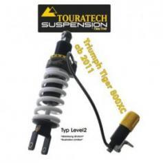 Touratech Tubo amortiguador de la suspensión para Triumph Tiger 800 XC a partir de 2011 tipo Level2/ExploreHP