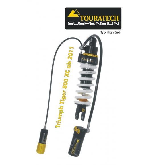 Tubo amortiguador de la suspensión Touratech para Triumph Tiger 800 XC a partir de 2011 modelo *Highend*