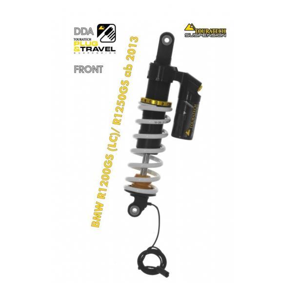 "Tubo amortiguador Plug & Travel Touratech Suspension ""delantero"" para BMW R1250GS DDA / BMW R1200GS (LC) / BMW R1200GS Adv LC"