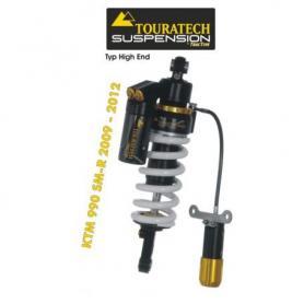Tubo amortiguador de la suspensión Touratech para KTM 990 SM-R (2009-2012) modelo HighEnd