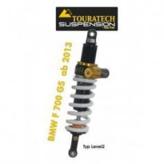 Touratech Tubo amortiguador de la suspensión para BMW F700GS a partir de 2013 tipo Level2/ExploreHP