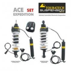 Touratech ACE Suspension Expedition SET para BMW R1200GS/ ADV (2004-2013)
