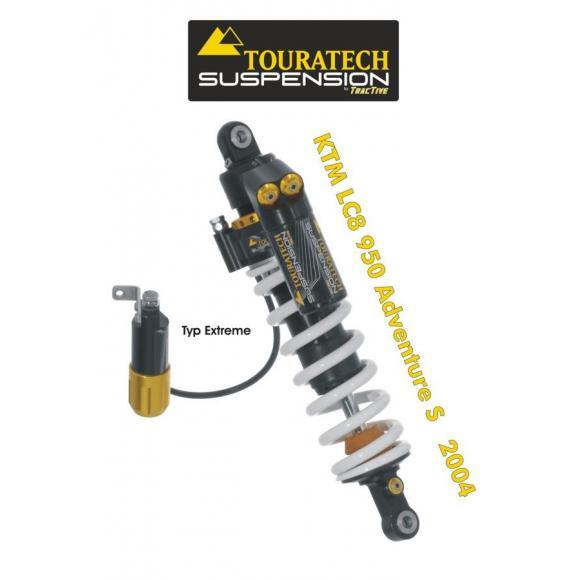 Amortiguador de la suspensión trasera para KTM LC8 950 Adventure S (2004-2005) modelo *Extreme*