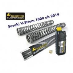 Muelles de horquilla progresivos, Suzuki V-Strom 1000 desde el año 2014 Touratech Suspension