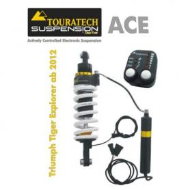 Tubo amortiguador de Touratech Suspension ACE para Triumph Explorer desde 2012 modelo Expedition