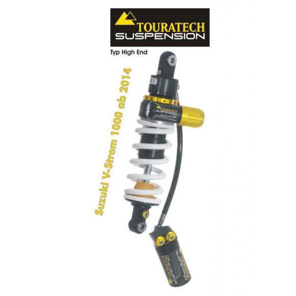 Tubo amortiguador de la suspensión Touratech para Suzuki V-Strom 1000 desde el año 2014 Highend
