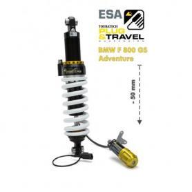 Reducción de altura -50 mm Touratech Suspension para BMW F800GS Adventure a partir del 2014 Tipo: Plug & Travel para BMW ESA
