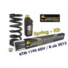 Muelles progresivos de intercambio Hyperpro para horquilla y tubo amortiguador, KTM 1190 Adventure R desde el año 2013