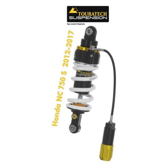 Touratech Tubo amortiguador de la suspensión para Honda NC750S 2012-2017 tipo Level2/ExploreHP
