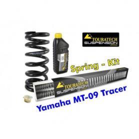Muelles progresivos de intercambio para horquilla y tubo amortiguador, Yamaha MT 09 Tracer