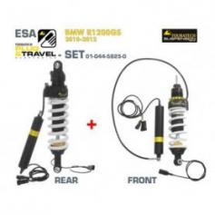 SET Touratech Suspension Plug & Travel-ESA para BMW R1200GS / ADV (2010-2012)