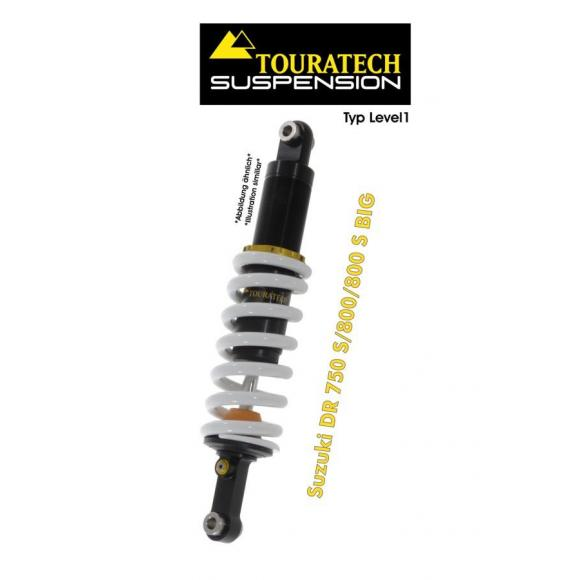 Tubo amortiguador de la suspensión Touratech para Suzuki DR 750S/800/800S BIG (1989 -1996) modelo Level1