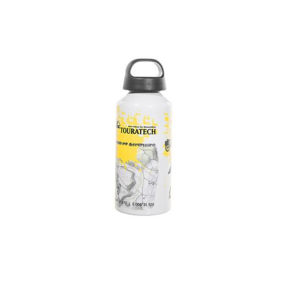 """Botella de aluminio 0,6 litros """"Essentials"""" de Touratech"""