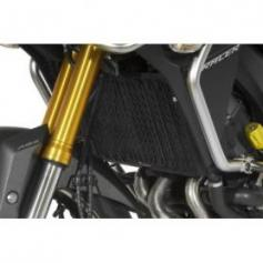 Protector del radiador para Yamaha MT-09 Tracer, negro de aluminio