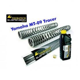 Muelles de horquilla progresivos, Yamaha MT 09 Tracer
