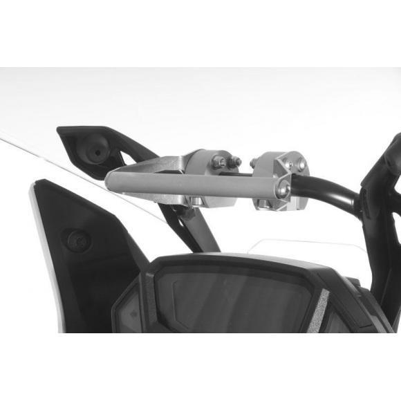 Adaptadorpara soporte GPS sobre elcuadro de instrumentos en Honda CRF1000L Africa Twin y Adventure Sports
