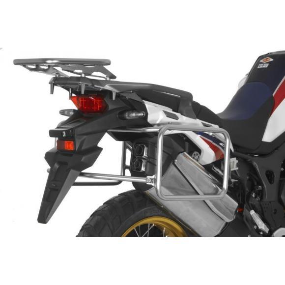Portamaletas de acero inoxidable para Honda CRF1000L Africa Twin (2015-2017)