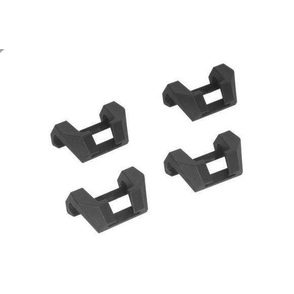 Set de 4 ganchos para la tapa de las maletas ZEGA