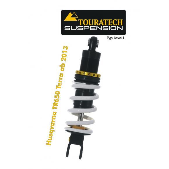 Tubo amortiguador de la suspensión Touratech para Husqvarna TR650 Terra a hasta 2013 modelo Level1/Explore