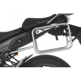Portamaletas de acero inoxidable, para Yamaha MT-09 Tracer