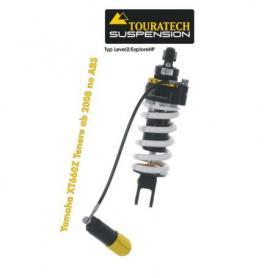 Tubo amortiguador Touratech Suspension para Yamaha XT660Z Tenere (sin ABS) a partir de 2008 tipo Level2/Explore HP
