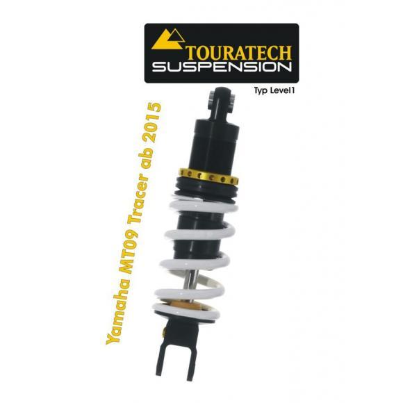 Tubo amortiguador Touratech Suspension para Yamaha MT 09 Tracer a partir de 2015 tipo Level1/Explore