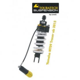 Tubo amortiguador Touratech Suspension para Yamaha MT 09 Tracer a partir de 2015 tipo Level2/ExploreHP