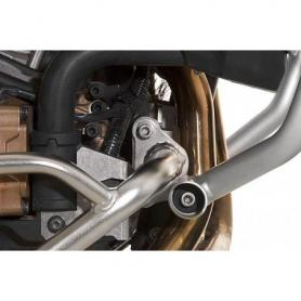 Soporte para combinar protección del motor de Touratech con el estribo original de CRF1000L Africa Twin