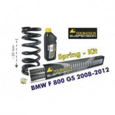 Ajuste de suspensión en 25mm BMW F800GS 2008-2012 muelles de intercambio