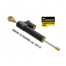 Amortiguador de dirección Touratech Suspension Competition CSC para BMW S1000RR desde 2014 incl. kit de montaje
