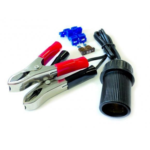 Adaptador de pinzas para la toma del mechero