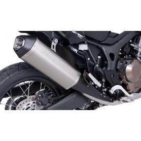 Silenciador final Remus Okami de titanio para Honda CRF1000L Africa Twin 2017, slip-on con homologación ABE