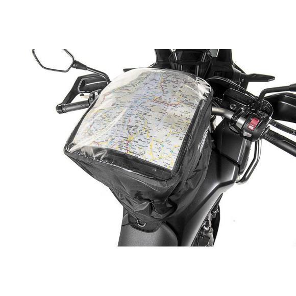 Bolso del tanque cubierta de la lluvia PS10, negro, by Touratech Waterproof