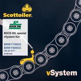 Sistema engrasador de cadena Scottoiler vSystem, para BMW F700GS / F800GS, a partir de 2017
